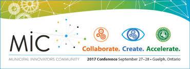 Collaborate.Create.Accelerate. MiC logo.