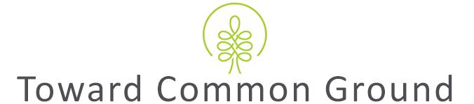Toward Common Ground logo