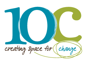 10C logo with tagline creating space for change